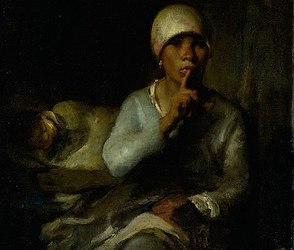 Jean-François Millet: Woman and Child (Silence)