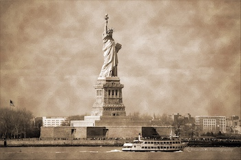 Statue of Liberty Post Banner