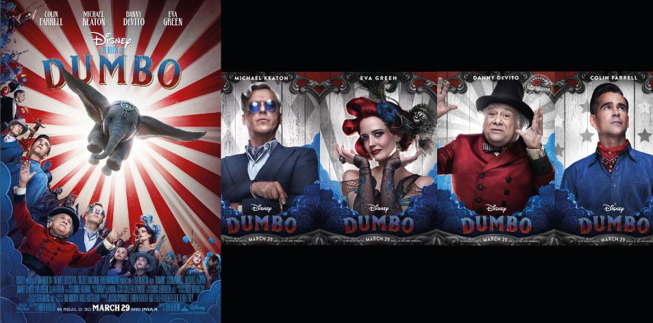 ANGA IMAX- 29th March-4th April 2019- Dumbo 3D