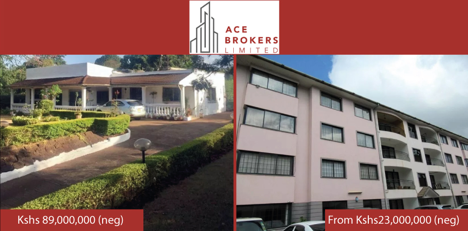 Ace Brokers Limited- Properties Of The Week For Sale!!