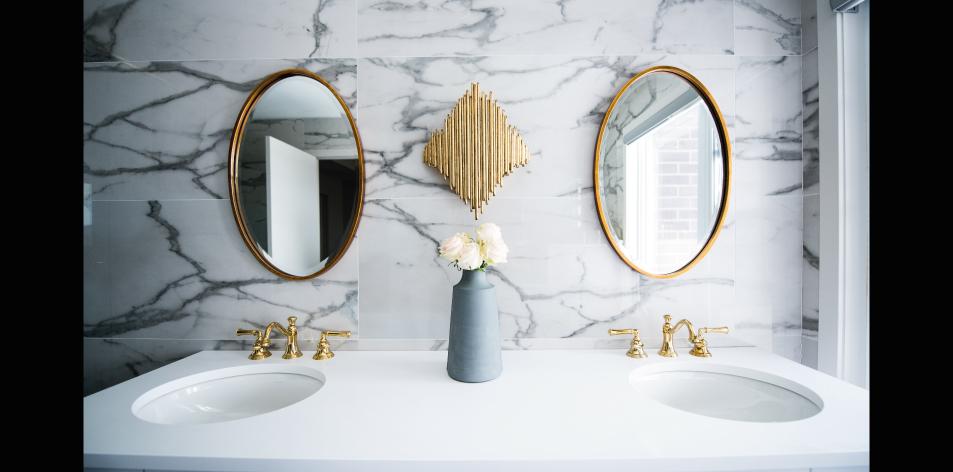 double sink bathrooms