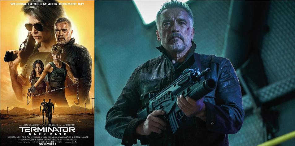 ANGA IMAX- 1st-7th Nov 2019- TERMINATOR: DARK FATE