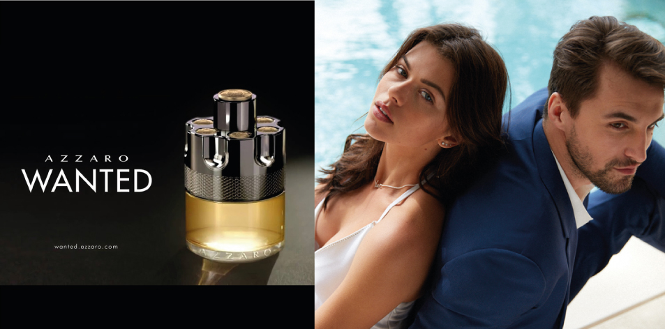 H&S Recommended Fragrance of The Week- For Him- Azzaro Wanted – A MAN WHO AROUSES DESIRE