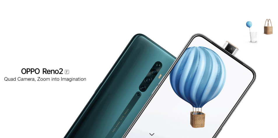 OPPO Reno2 F: Quad Camera, Zoom Into Imagination- 8GB RAM, 128GB ROM- 39,900Kshs