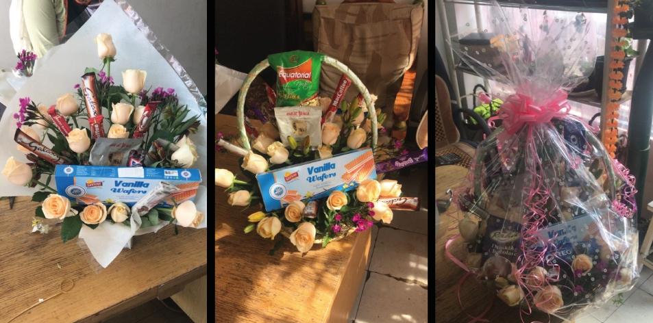 customised bouquet