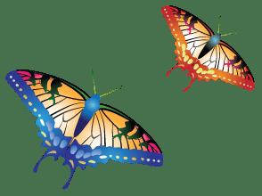 H&S Magazine Easter Butterflies