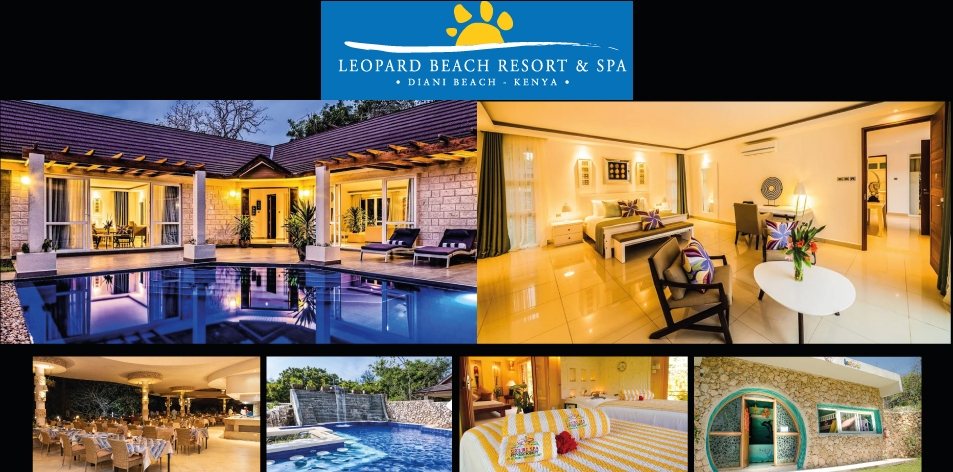 Leopard Beach Resort & Spa- Located Along Diani Beach on Kenya's South Coast- The Perfect Couples Getaway