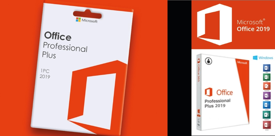 Microsoft Office Professional 2019 Plus 1 PC Microsoft Key- Up to 94% Off Digital Download, Today!