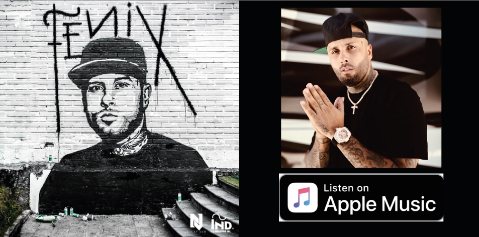 Apple Music- H&S Magazine's Best Artist Of The Week- Nicky Jam- Album- Fénix