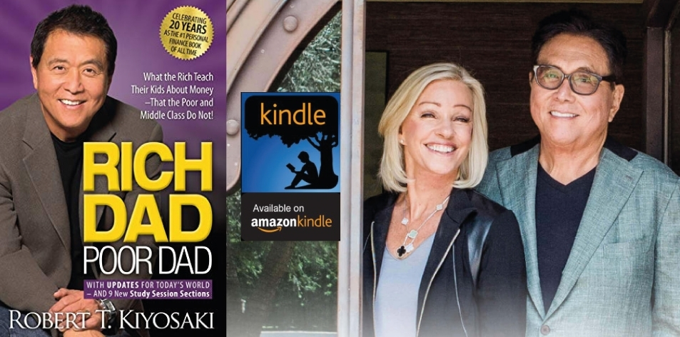 Amazon Kindle- H&S Magazine's Recommended Book Of The Week- Robert T. Kiyosaki- Rich Dad Poor Dad