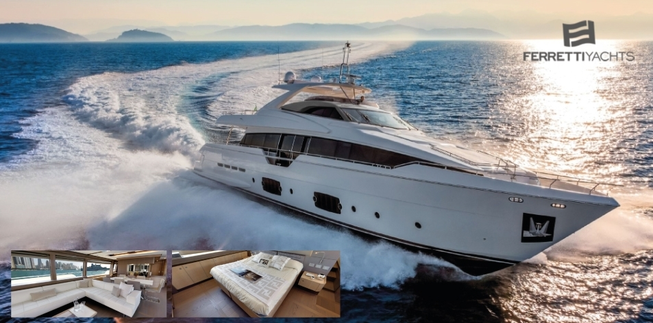 H&S Magazine Boat Of The Week- Luxury Flybridge Yacht - Ferretti Yachts 960 - Ferretti Group