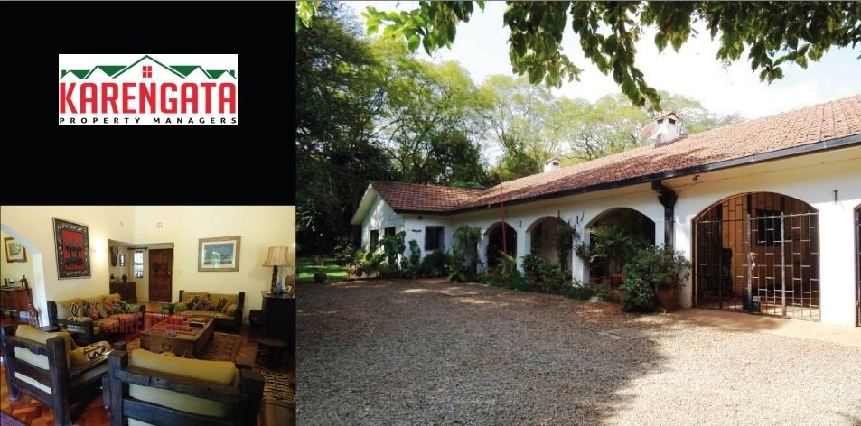 """5 bedroom """"Hacienda-Style"""" Home Located In Karen"""