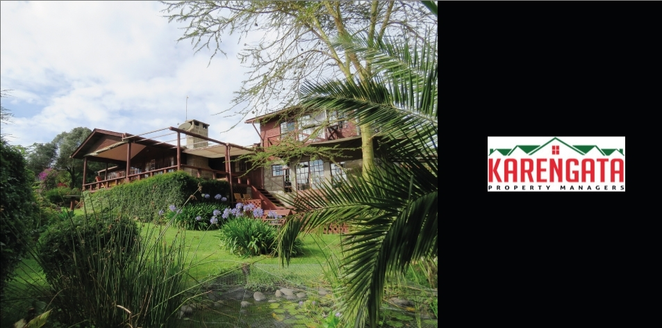 Unique 3 Bedroom Family Home With One Bedroom Self-Contained And Fenced Cottage, Located In Naro Moru, Nanyuki