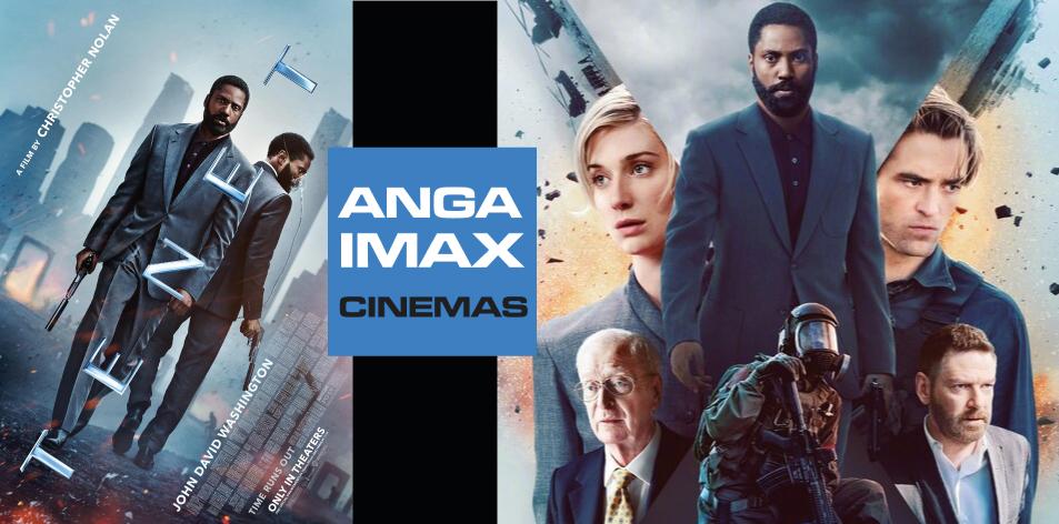 ANGA Diamond- Diamond Plaza 2 Cinema- 23rd-29th October 2020- Tenet
