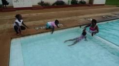 Swimming at Kitale Club