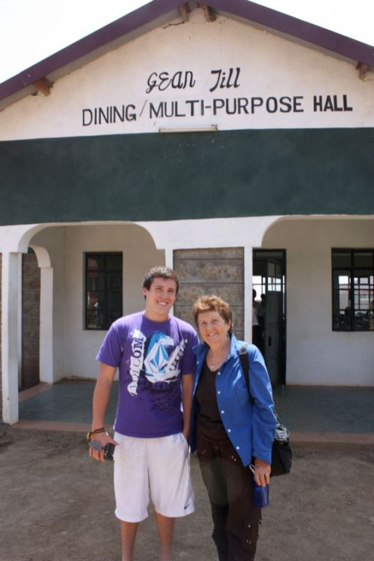 Board member Anita Dippery and her grandson, Riley Murtagh visited St. Francis and Archbishop Ndingy Boys High School in July 2010. Riley's video can be viewed on our website