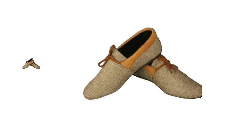 Flat Shoes Kenyan Man