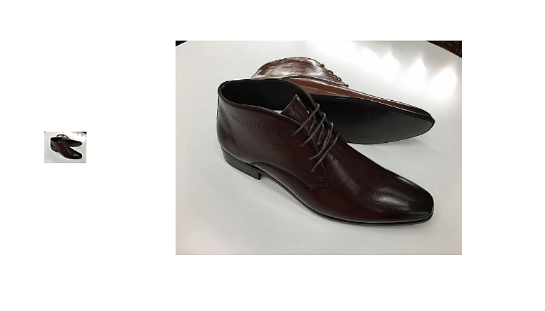 Kenyan Man Official Casual Boots Coffee Brown