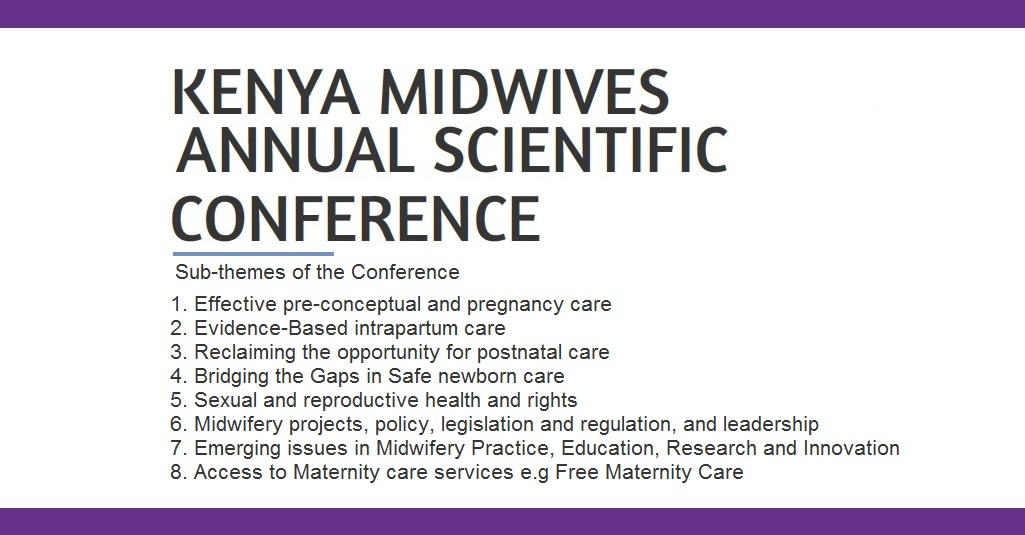 Kenya Midwives Conference 2016 Sub-Themes