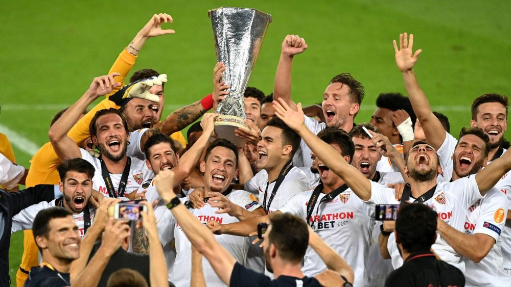 Sevilla beat Inter 3-2 to win the Europa League finals