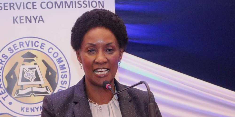 TSC boss Nancy Macharia in a press briefing on Monday, September 21 says teachers to report back to school from September 28