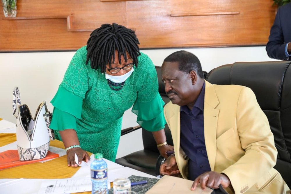 Raila urged members to form new friendships with pro-reform individuals.
