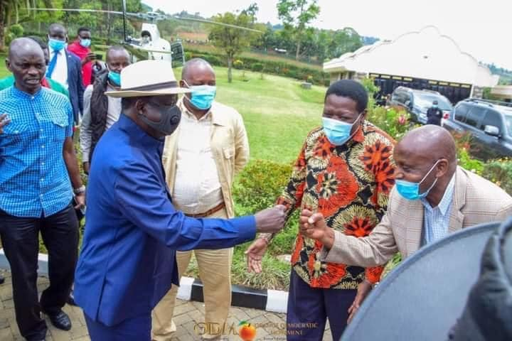 Odinga in Bomet County