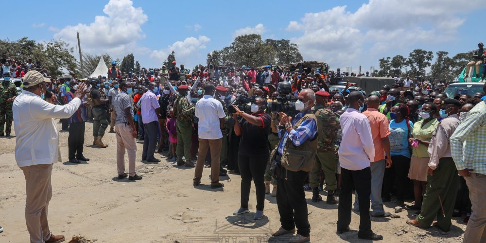 President Uhuru preaches unity during his tour of the Coast to inspect government projects