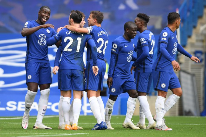 Chelsea sealed a 4-0 win over Crystal Palace