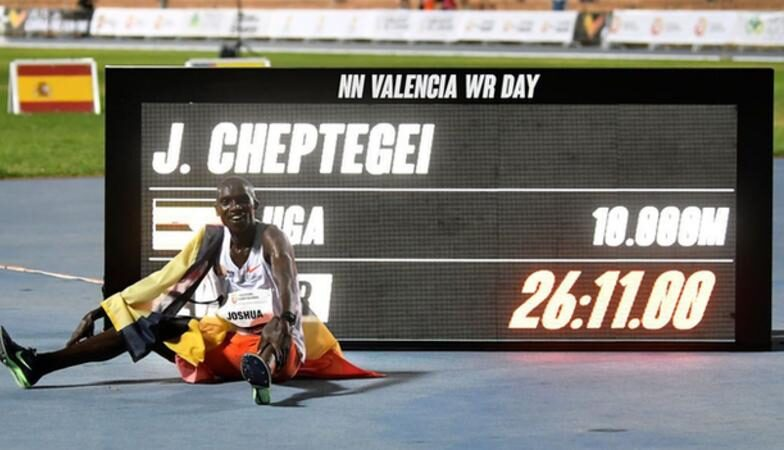 Cheptegei World Record