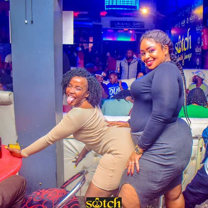 Crazy Slay queens spotted at Club Switch President partially opened the country –These are your future wives (PHOTOs)