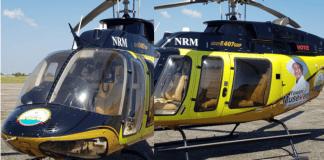 RUTO donates his chopper to YOWERI MUSEVENI