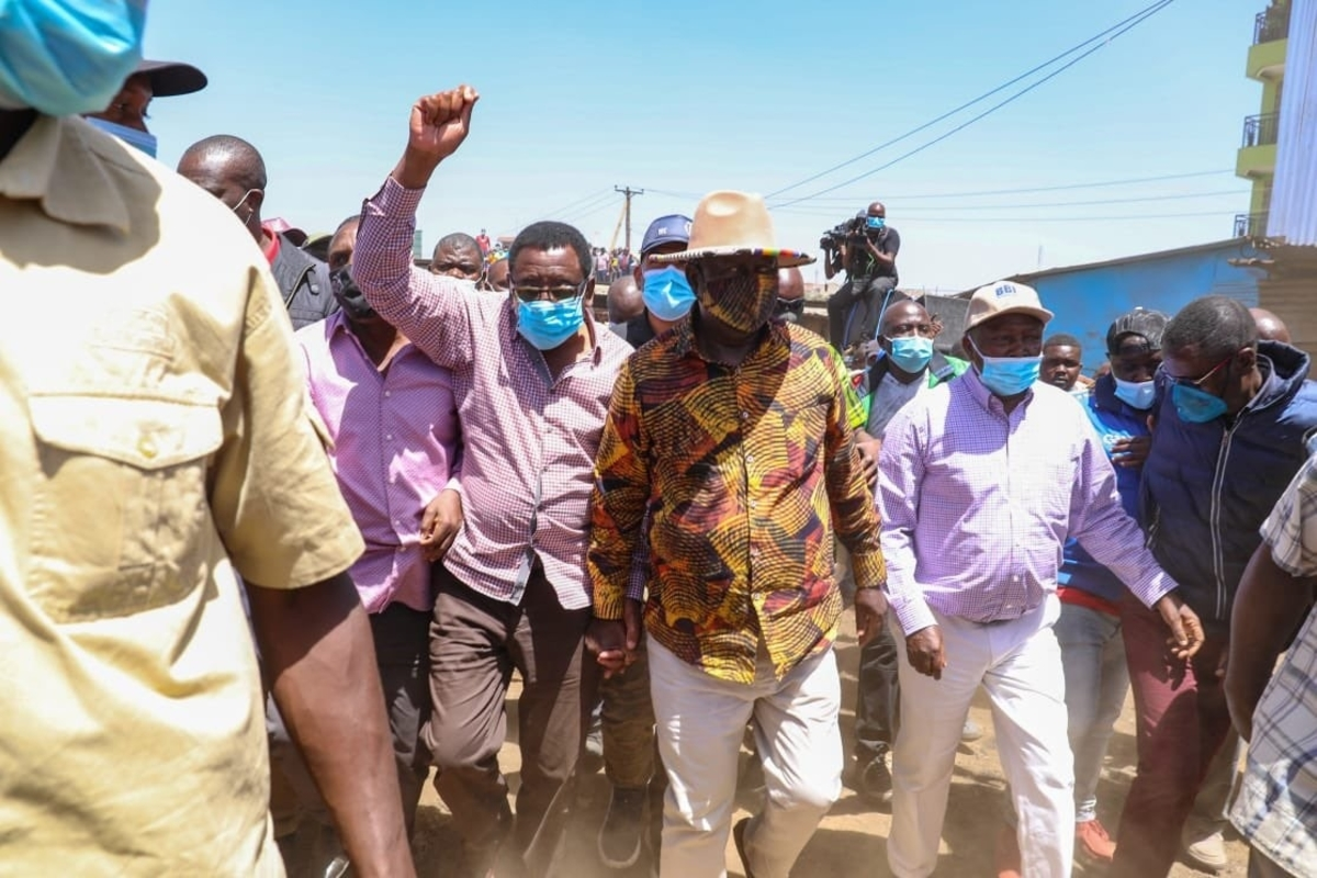 ODM blogger, DIKEMBE DISEMBE, blames UHURU over Githurai violence where RAILA ODINGA was stoned by RUTO's goons | DAILY POST