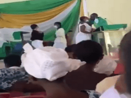 Rogue Pastor Kissing laddies in church