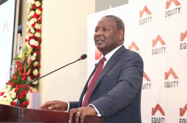 Equity Group Managing Director and CEO, Dr. James Mwangi