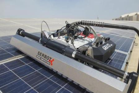 Cleaning Solar Panels to improve efficiency