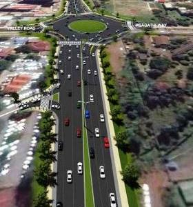 Ngong road Expansion between Kenya National Library Services and Prestige Plaza