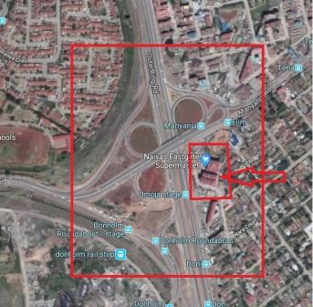 Location of Naivas Eastgate on the map