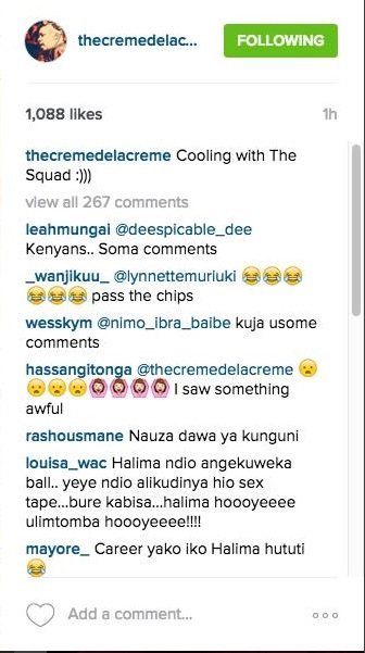 DJ Crème de la Crème's response after his viral s3x t*pe with HALIMA …….. This guy