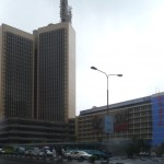 See what the Chinese have put up at Teleposta Towers for UHURU