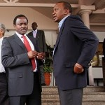 Kalonzo Musyoka meets President Uhuru Kenyatta secretly in State House