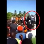 VIDEO: This is the man who made Raila fall down from podium in Malindi