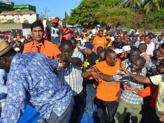 CORD exposes the man who collapsed Raila podium in Malindi