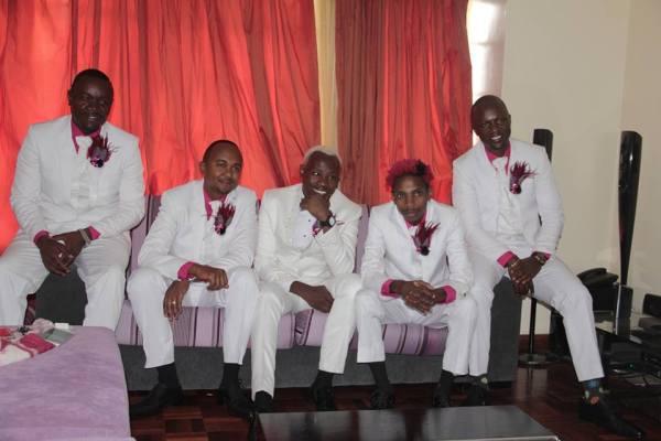 Photos of Daddy Owen Wedding with his wife Farida WambuiPhotos of Daddy Owen Wedding with his wife Farida Wambui