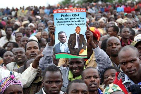 Photos - Eldoret residents celebrate William Ruto Joshua Sang ICC case Collapse