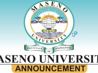 Maseno University Courses - Degree, Masters, PhD, Diploma, Certificate