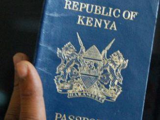 Kenyan Passport Application