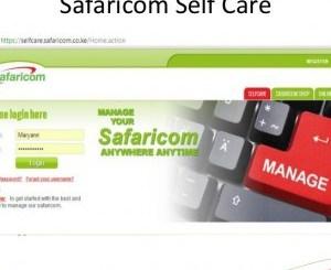 Safaricom Selfcare Portal, Customer Care Shop Location, Contacts, Safaricom App, Mpesa Statement Download online, Mpesa Charges, selfcare.safaricom.co.ke