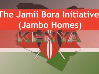 The Jamii Bora Initiative (Jambo Homes) in Kenya