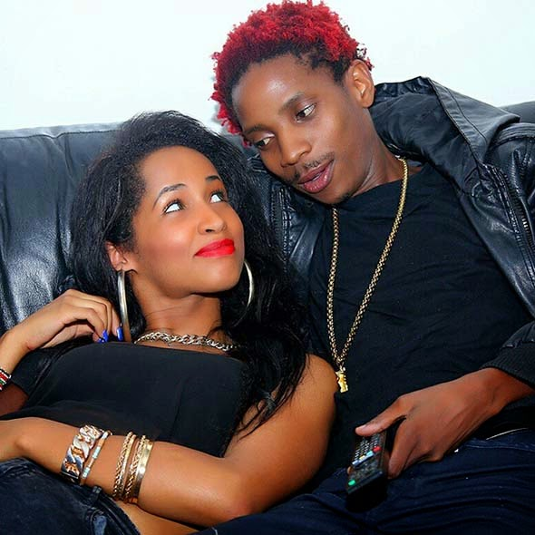 Image result for Eric Omondi and chantelle